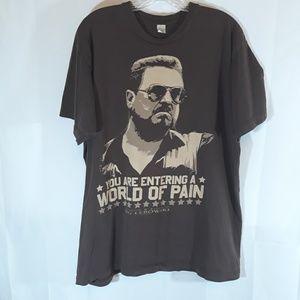 Big Lebowski t shirt with John Goodman